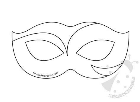 disegni da colorare e ritagliare per bambini gratis maschere di carnevale per bambini da colorare e ritagliare