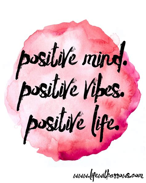 positive mind positive vibes positive life good