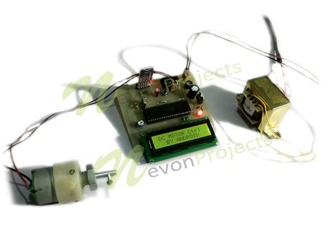 android engine dc motor speed by android nevonprojects