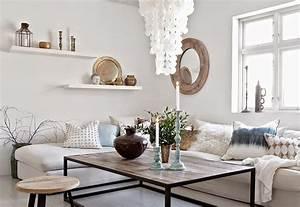 Couchtisch Skandinavischer Stil : wohnzimmer ideen im skandinavischen stil ~ Michelbontemps.com Haus und Dekorationen
