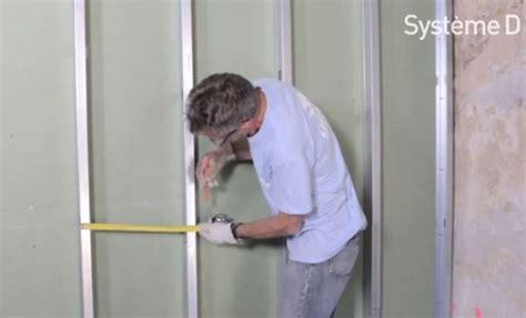 cloisonner une chambre monter une cloison entre une salle de bain et une chambre