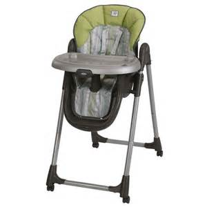 graco mealtime green rory high chair