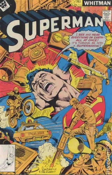 superman  st series whitman comic books