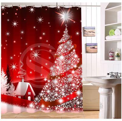 Achetez En Gros De Noël Rideau De Douche En Ligne à Des