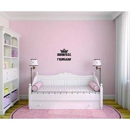 Do It Yourself Bedroom Decor by Do It Yourself Wall Decal Sticker Princess Crown