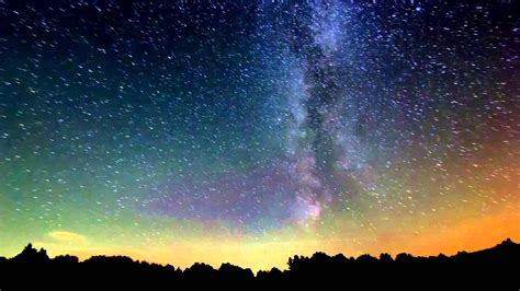 Hours Under The Milky Way Night Sky Timelapse Youtube