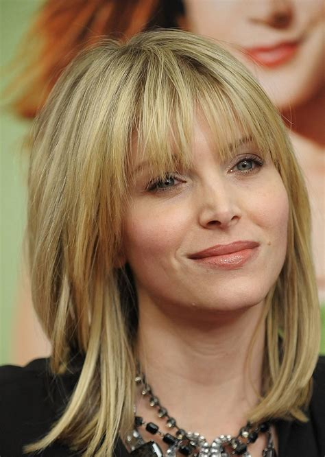 Length Hairstyles With Bangs by Medium Length Hairstyles With Side Bangs Hairstyles For