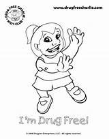 Coloring Drugs Pages Say Drug Week Anti Printable Ribbon Drawing Dope Adults Drawings Template Saying Sheet Worksheets Print Getcolorings Designlooter sketch template