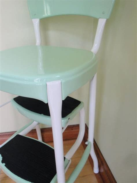 Cosco Step Stool Chair Walmart by Vintage Restored Cosco Kitchen Step Stool Retro Mint Green