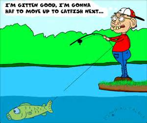 Fishing Catfish Cartoon