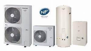 Pac Air Eau : toshiba chauffage climatisation pac air eau estia ~ Melissatoandfro.com Idées de Décoration