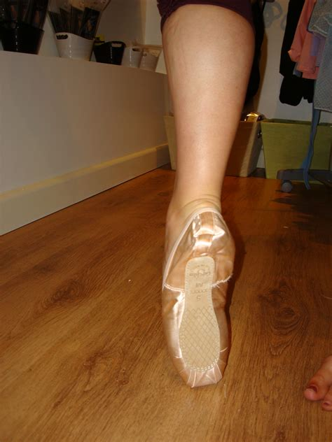 Ballerina Feet Pointe Shoes