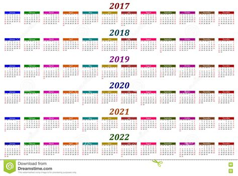 2017, 2018, 2019, 2020, 2021 And 2022