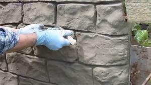 Türen Bekleben Selber Machen : steinoptik selber machen youtube ~ Frokenaadalensverden.com Haus und Dekorationen