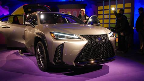 lexus ux celebrates  debut   york auto show