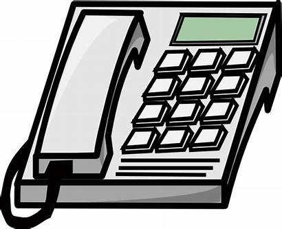 Phone Clip Office Phones Clipart Call Cliparts