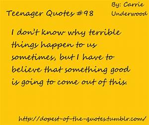 Quotes About Teenage Years. QuotesGram