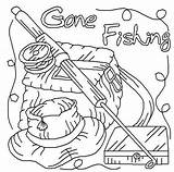 Coloring Pages Fishing Printable Go Burning Wood Patterns Fish Lets Gone Dot Pole Drawings Pyrography Fall Painting Adult Signs Books sketch template