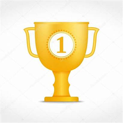 Beker Gouden Pokal Goldener Stockillustratie Beirut Tournaments