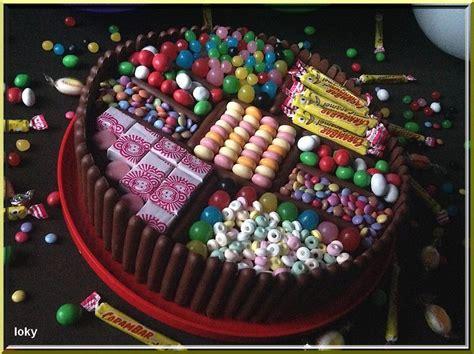 le gateau de bonbons loky vous vient  la bouche