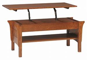 amish mission lift top coffee table With amish lift top coffee table