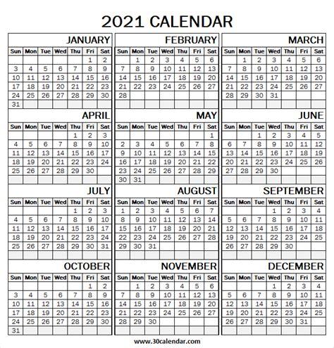 large print  calendar template blank yearly calendar