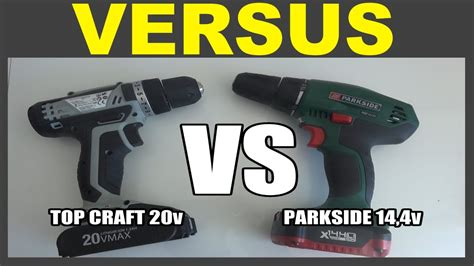 perceuse parkside pabs   top craft   youtube