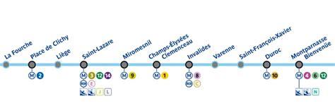 carrefour siege la ligne 13 du métro parisien a sa chanson juste une trace