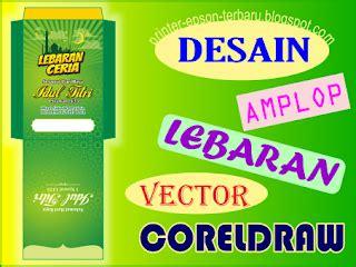 desain amplop lebaran vector cdr