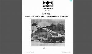 Terex Ppm Crane Pdf Manual Collection