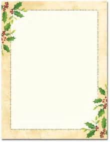 5 best images of free printable christmas border templates With christmas border letter size paper