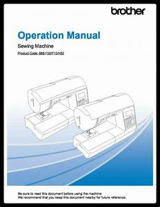 Brother Ps500 Instructions Manual Spiral Bound Color