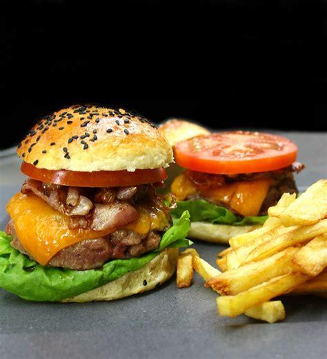brioche cuisine az burger with handmade brioche bun