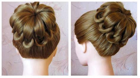 comment cuisiner les chignons tuto coiffure simple cheveux mi chignon tressé facile coiffure tresse en noeuds