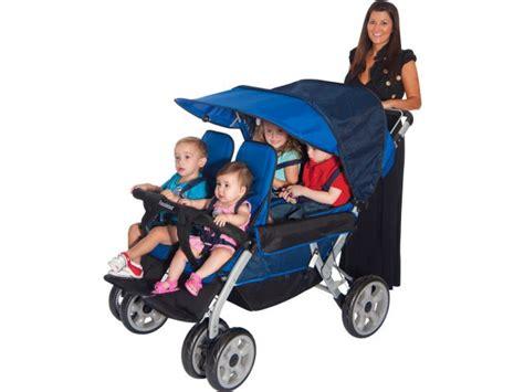 lx 4 passenger folding stroller fnd 4140 daycare 826 | FND 4140 ALT 2