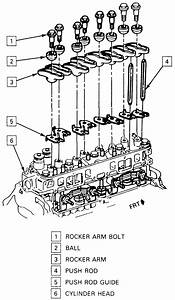 Engine Push Rod Diagram