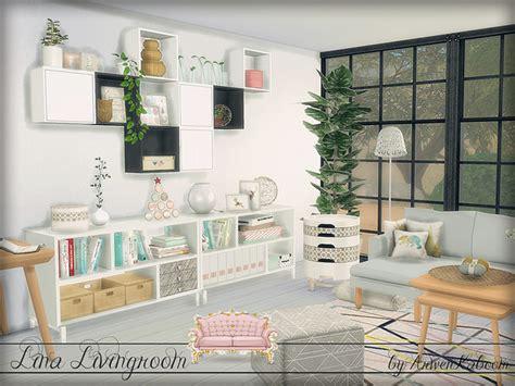 lina livingroom  arwenkaboom  tsr sims  updates