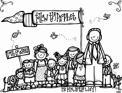 Lds Primary Melonheadz Coloring Pages Activities Follow