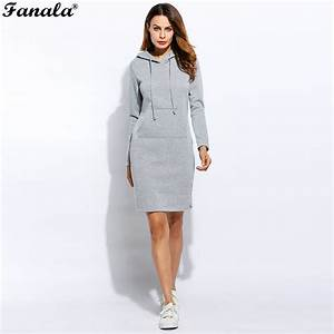 2017 women summer autumn dress sexy casual swaetshirt With robe pull capuche