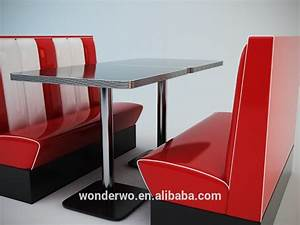 American Retro Diner Booths Seat Diner Set Booth