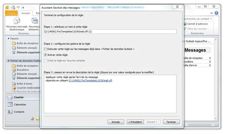 message d absence bureau outlook comment configurer un message d 39 absence clubic