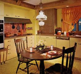 country dining room ideas 1970s kitchen design one harvest gold kitchen decorated in 6 distinct 39 70s styles retro