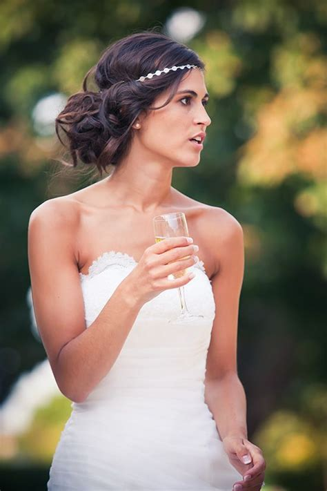 coiffures autres que chignon pour un mariage