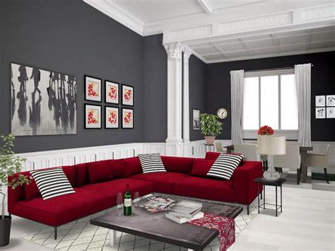 Living Room Dining Room Gray by Autodesk Homestyler Simplifiinteriors Grey
