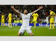 Real Madrid vs Villarreal Football Match Report April