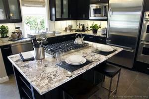 Pictures of Kitchens - Traditional - Black Kitchen