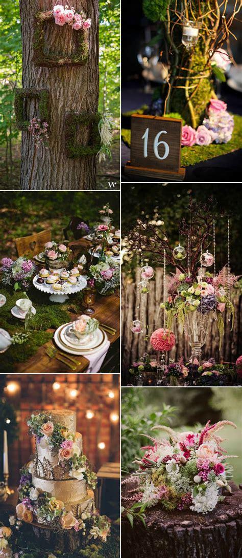Enchanted Forest Wedding Ideas For 2017 Brides Stylish
