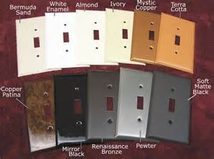 Copper Light Switch Covers by Electrical Plate Covers