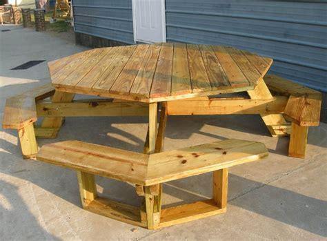 unique octagon picnic table octagon picnic table picnic