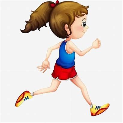 Running Cartoon Clipart Run Clip Drawing Jogging